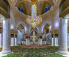Infinity. Inside Grand Mosque Abu Dhabi.