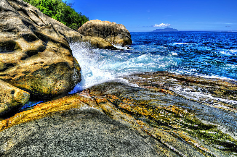 North point. Seychelles