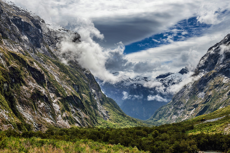 Clouds. New Zealand.
