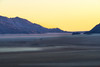 Namib desert after Sun down