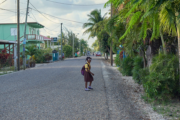 After school. Belize.