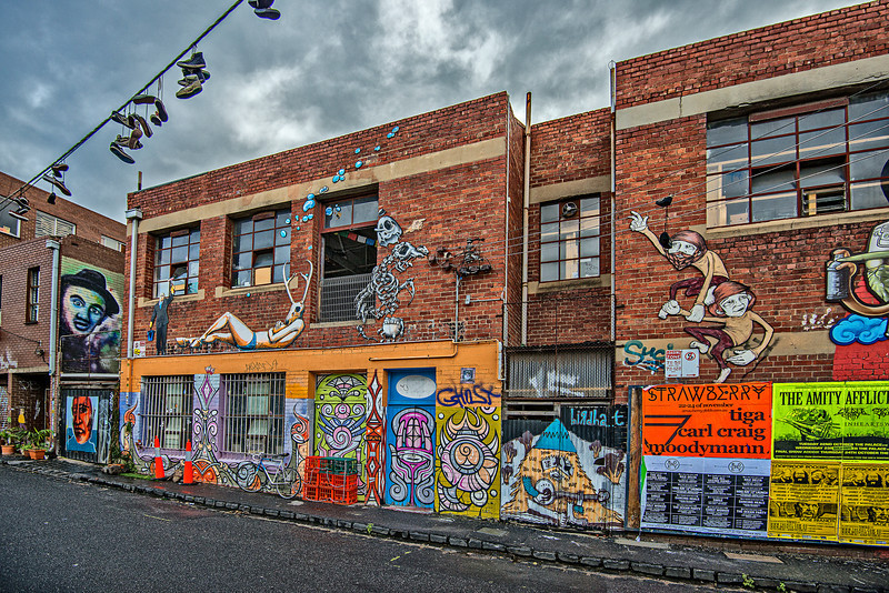 Artists district in Melbourne
