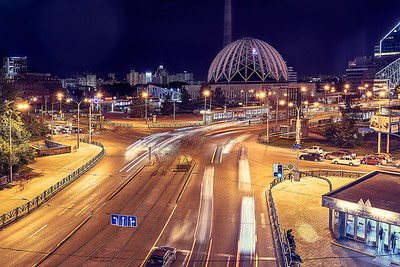 Night in Yekaterinburg (ex Sverdlovsk)