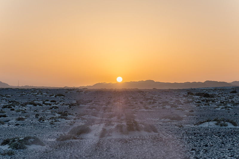 Sunset in Masirah Island