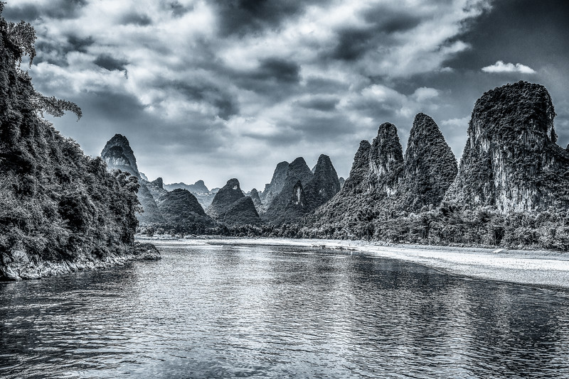 Guilin, Li river;