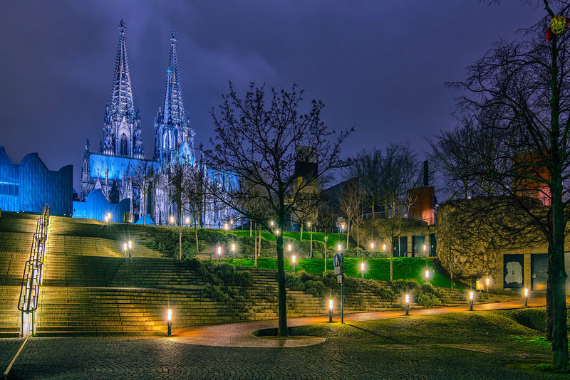 Night in Cologne