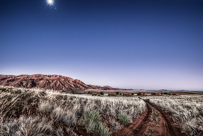 Night in Namib desert