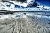 Low tide in Mauritius