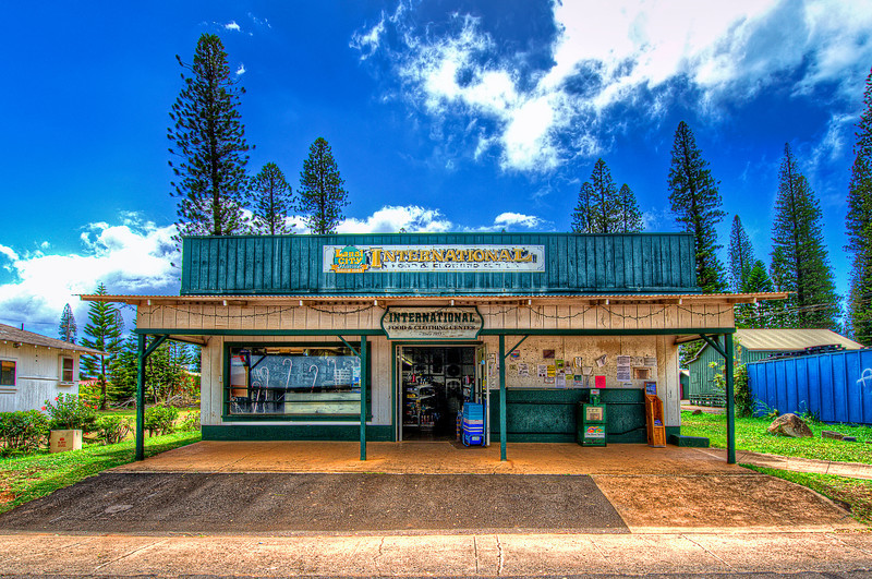 One of 3 stores in Lanai.