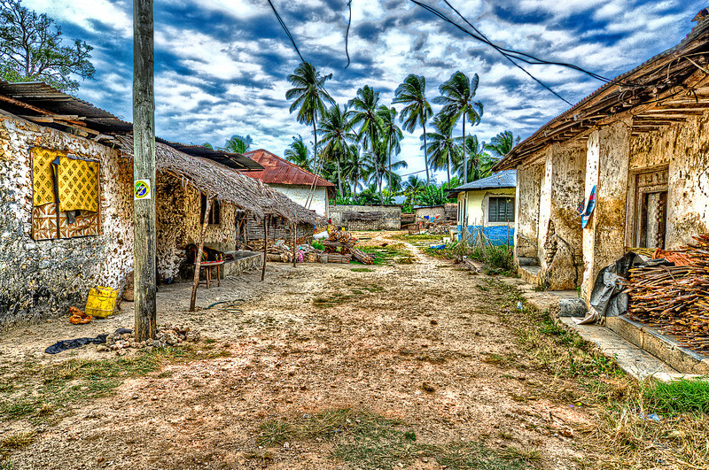 Far away from reach tourist, who preferred comfort resorts<br /> Zanzibar Cities, where the streets have no names