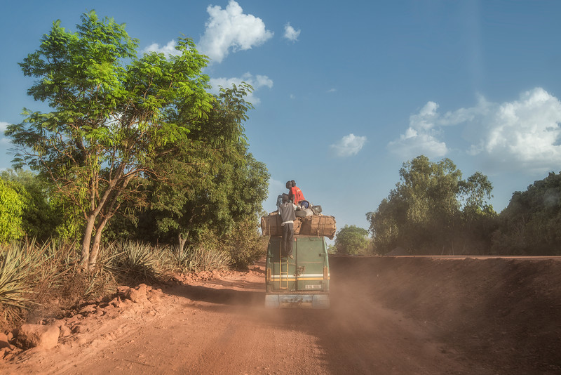 Building new roads all across Africa. MALI.