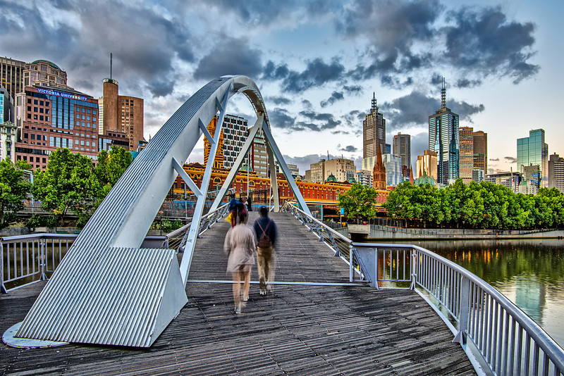 Heading to get some Coffee. Melbourne