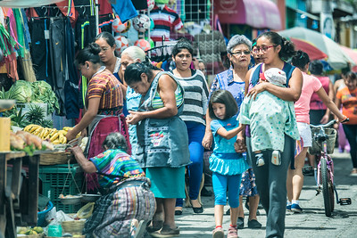 One day in Guatemala city market