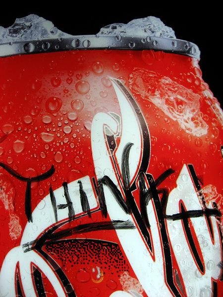 graffiti on a soda machine, 2100 block of 18th st nw