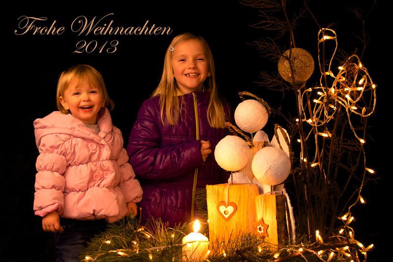 Foto Weihnachtskarte 2013
