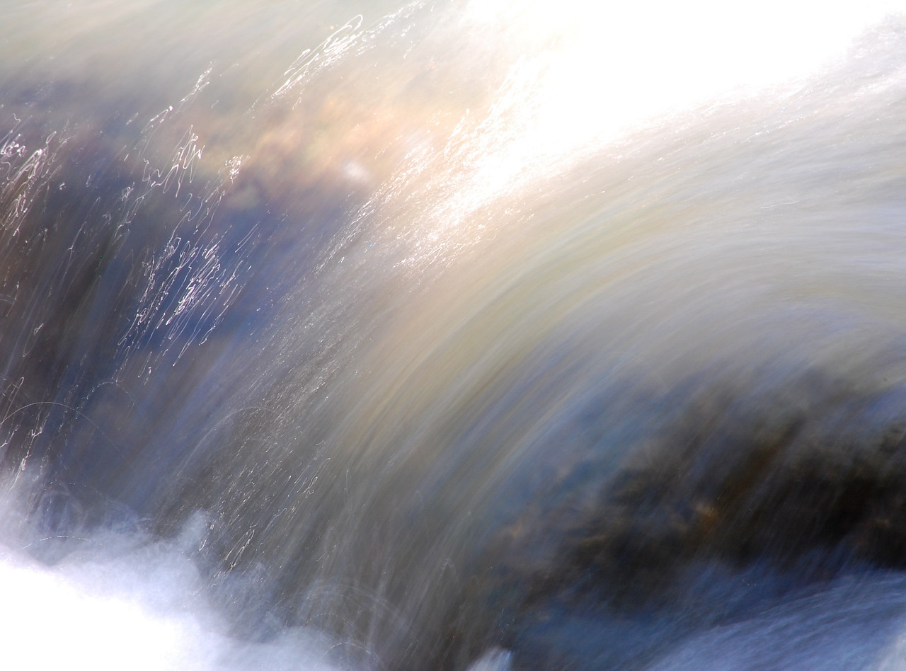 Flowing Water and Light