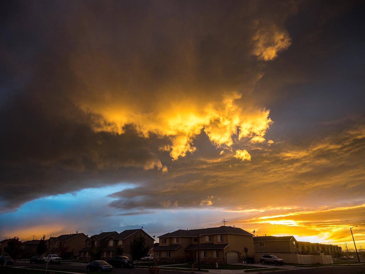 Sunlight, Captured in a Cloud