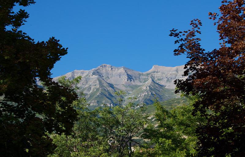 Mountain Framed