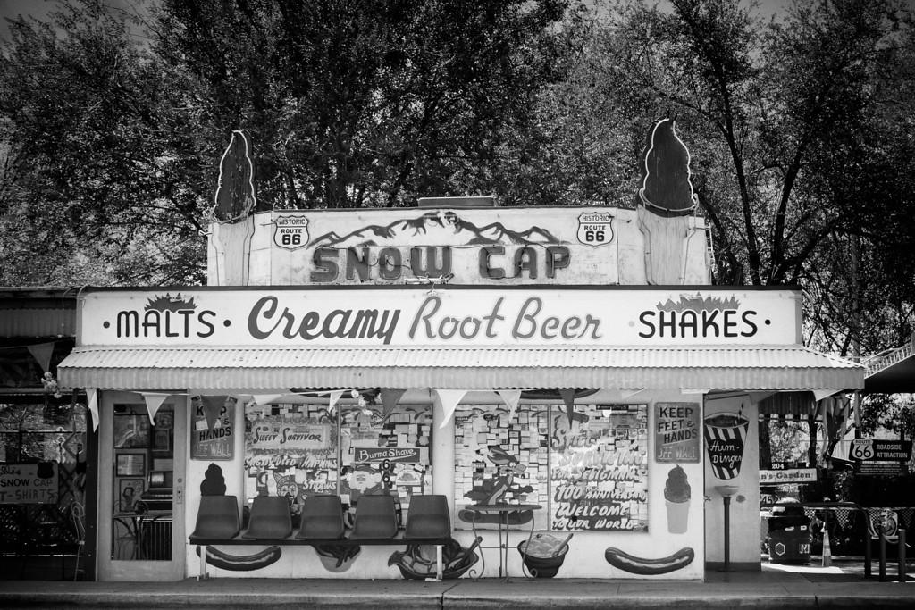 Snow Cap Root Beer Stand
