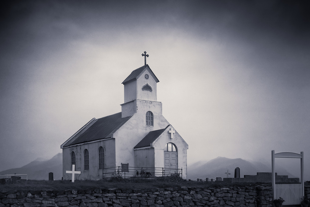 Church on Gloomy Afternoon
