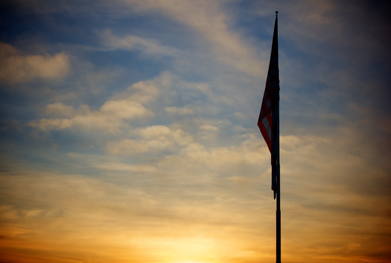 Star-Spangled Sunset