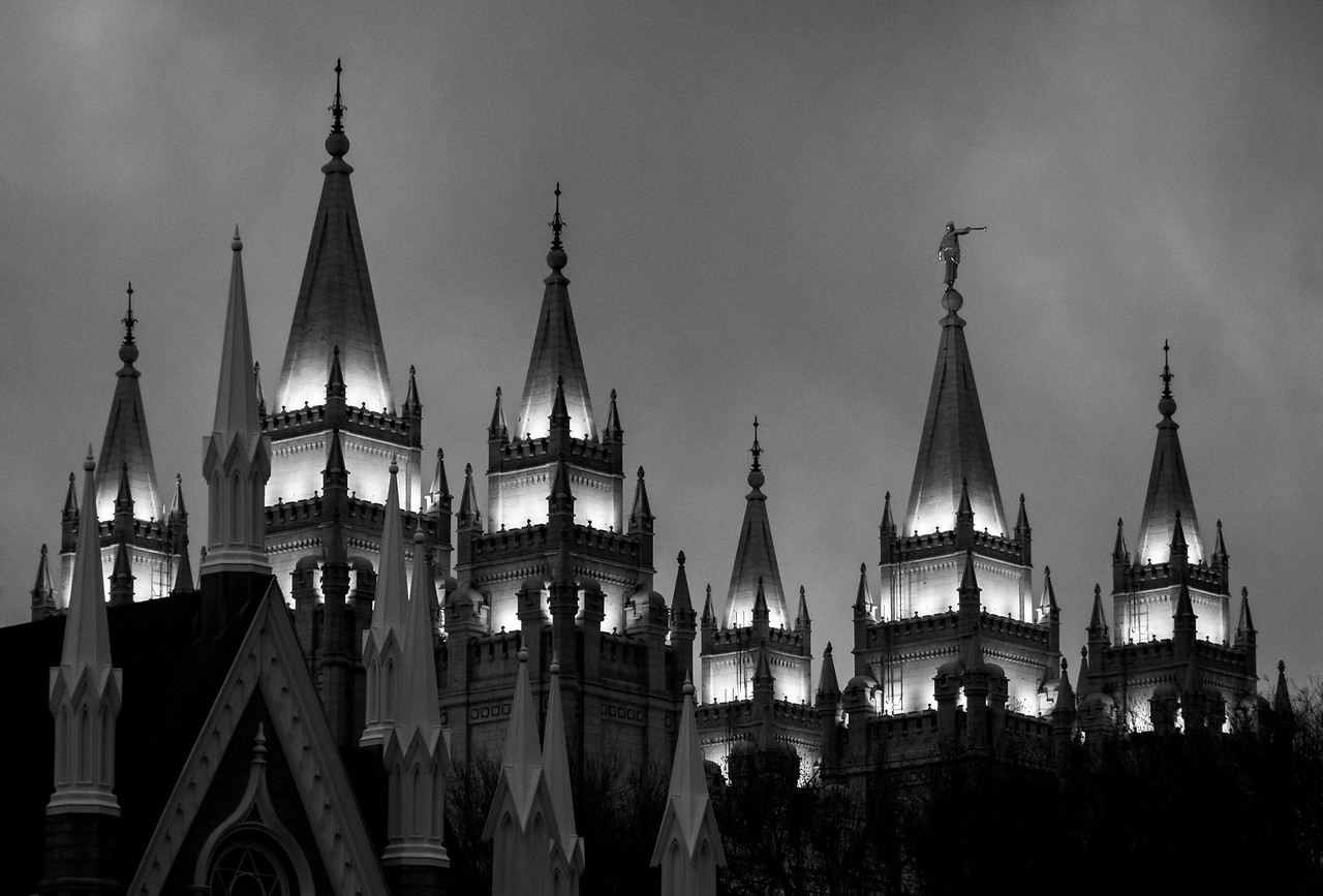 Fifty-eight Visible Spires