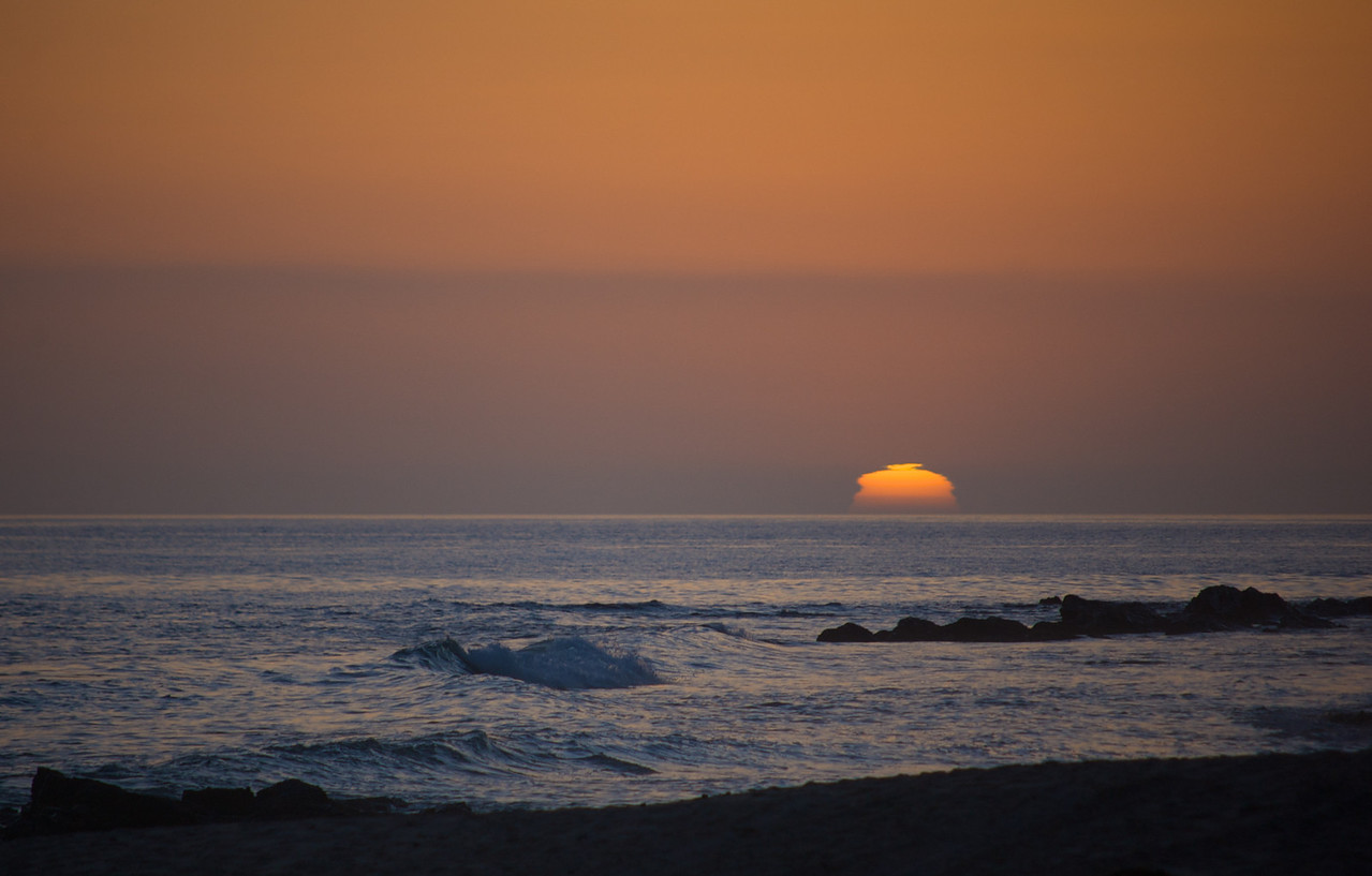 Day's End, Pacific Ocean