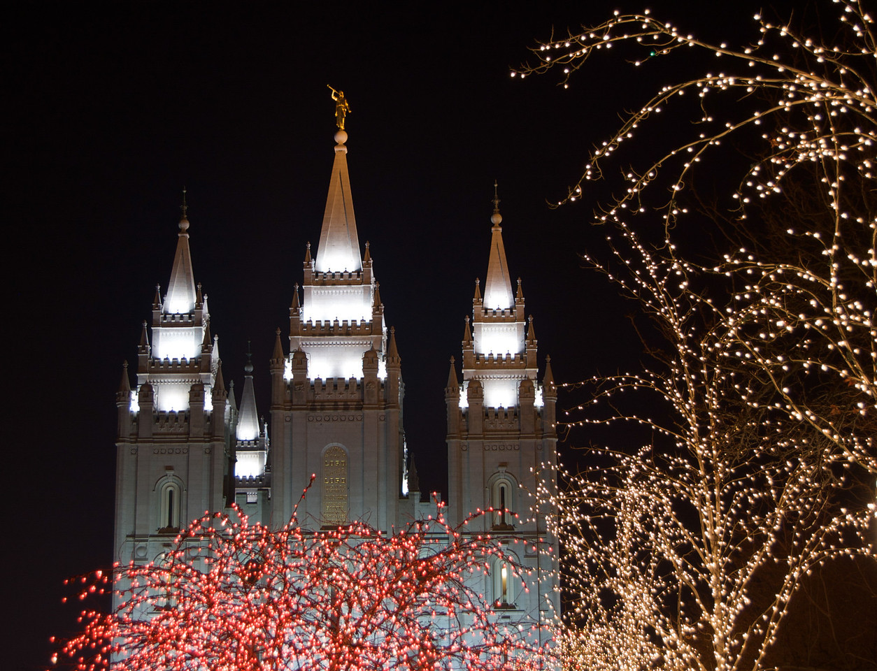 Christmas Lights, Salt Lake Temple