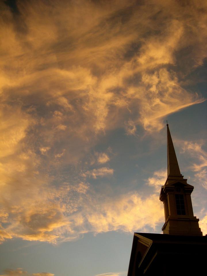 Steeple and Sky