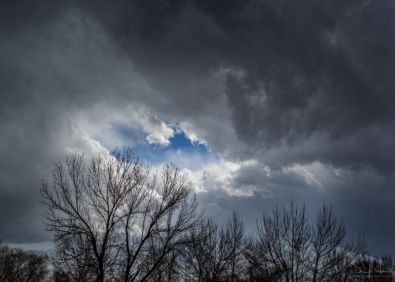 Hint of a Blue Sky
