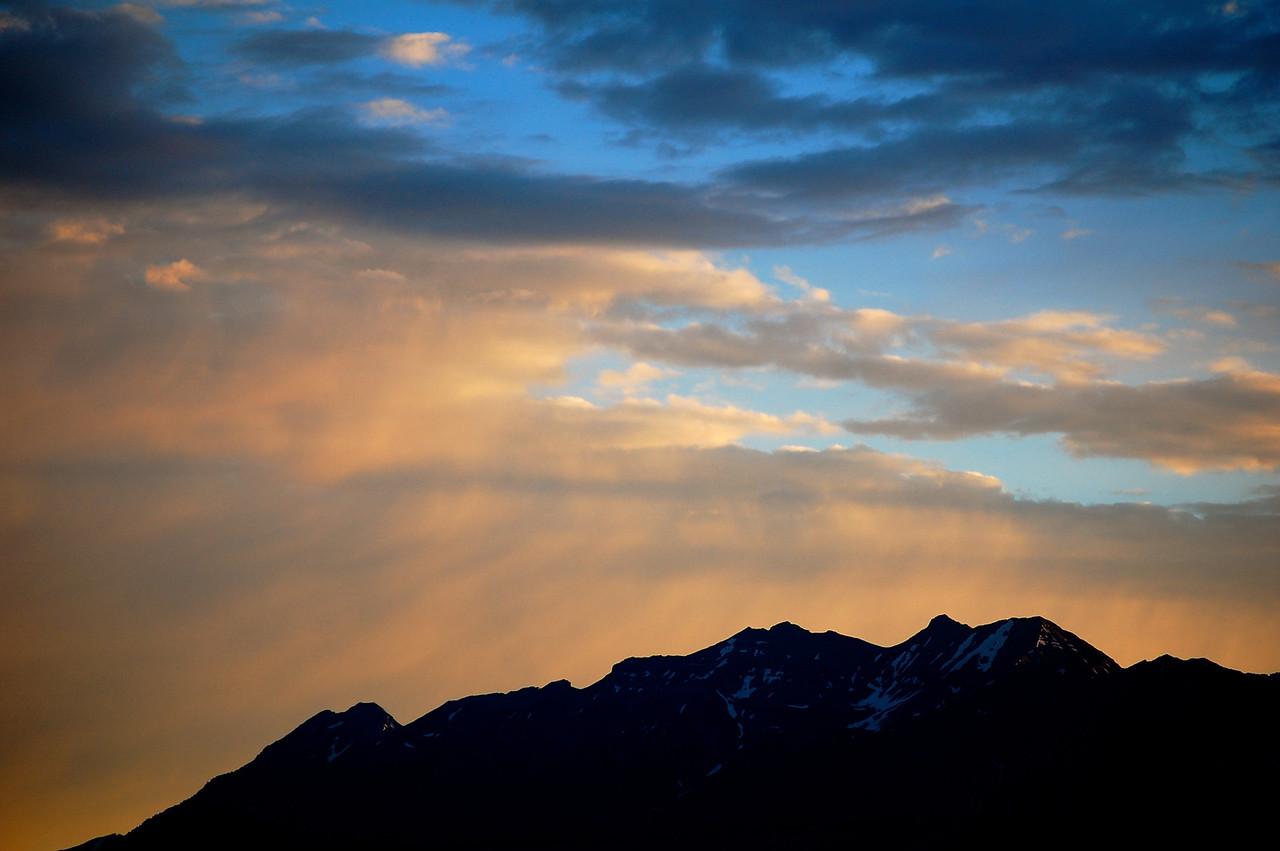 Sunrise Color, Rocky Mountains