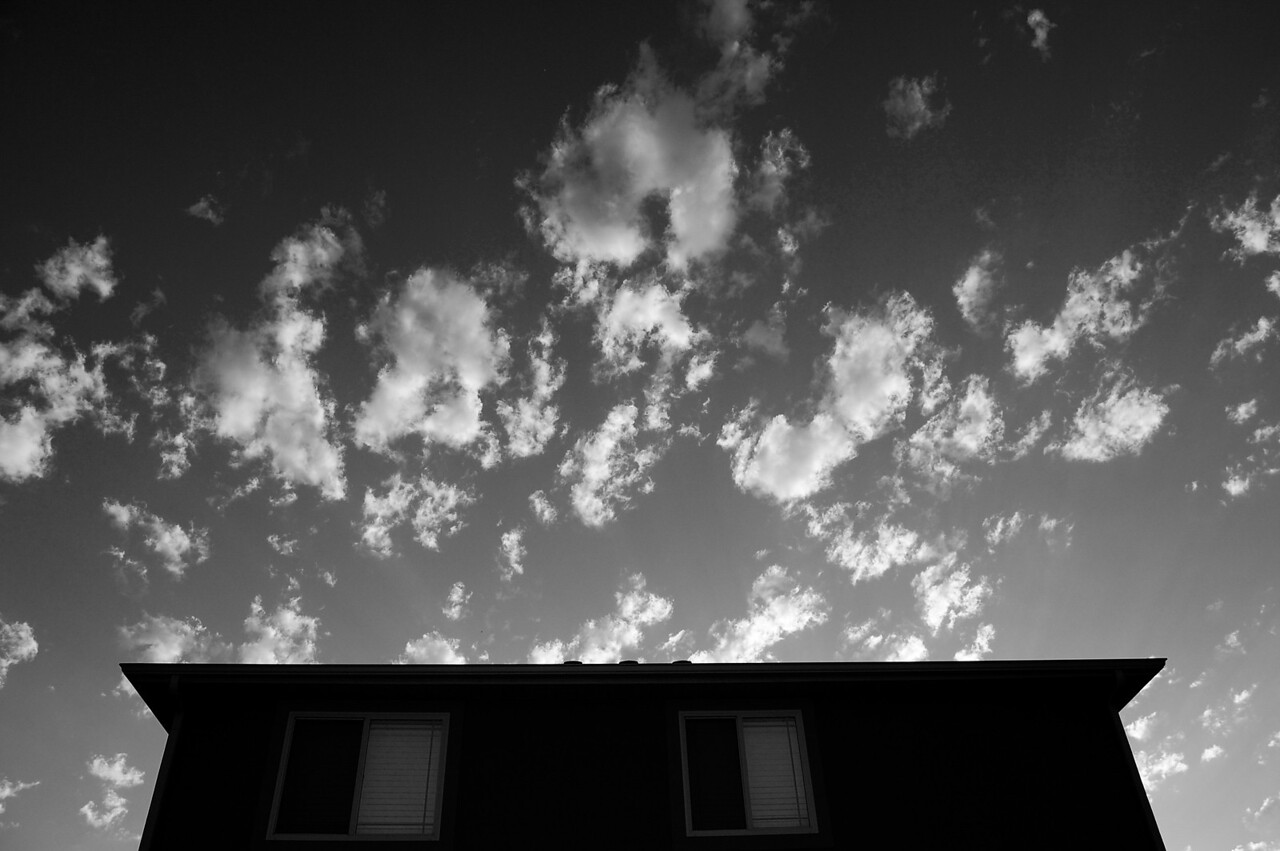 House Against Sky