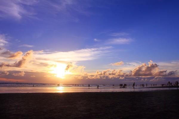 Double six beach in Seminyak, Bali