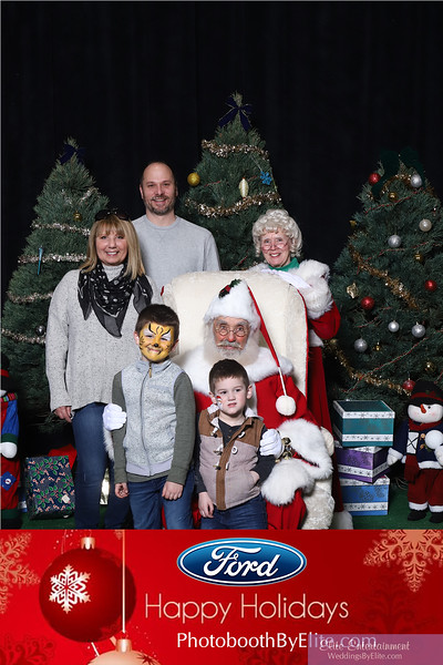 2018 Ford Sterling Axle Santa Photos