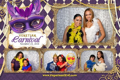 Masquerade Carnival Postcard