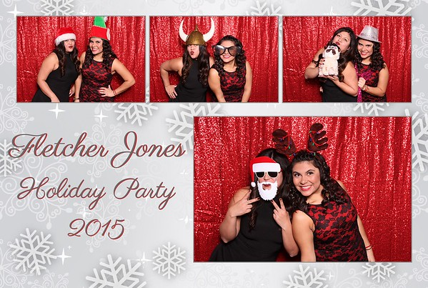 2015 Fletcher Jones Holiday Party Photo Booth