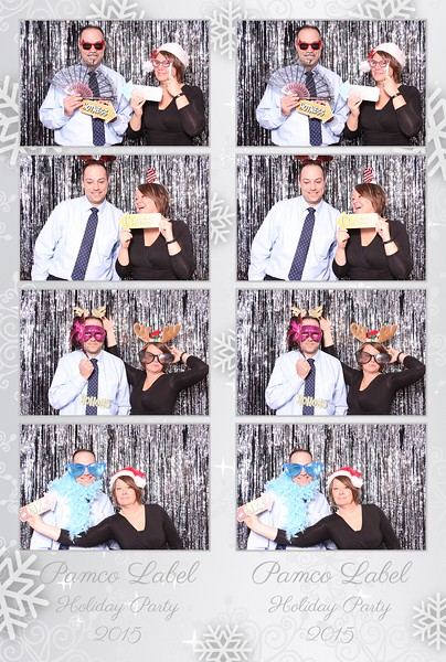 2015 Pamco Label Holiday Party Photo Booth