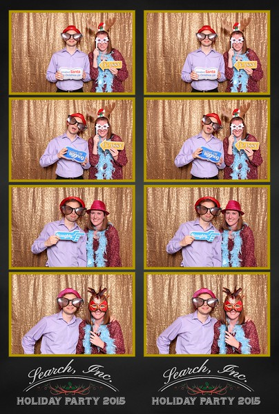 2015 Search Inc Holiday Party Photo Booth