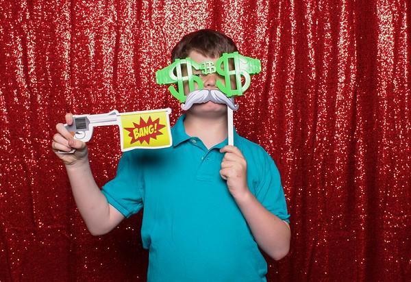 2016 Orrington Grad Party Photo Booth