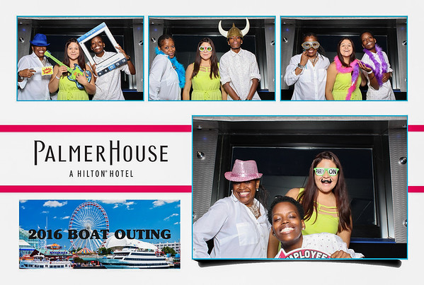 2016 Palmer House Boat Outing Photo Booth
