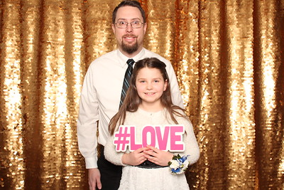 The 2017 Daddy Daughter Dance supporting Safe Shelter for Domestic Violence.