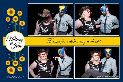 Amherstburg, On:  Hillary and Jim, Photo booth rental