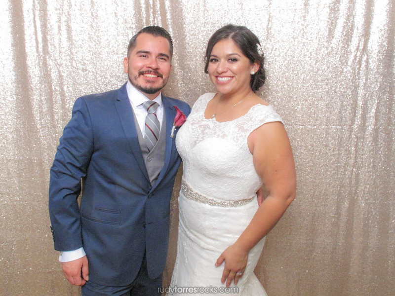 Crystal & Adrian's #FramedInHollywood Wedding Photobooth at Sportsman's Lodge 11.11.2016