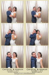 Crystal & Adrian's #FramedInHollywood Wedding Photobooth at Sportsman's Lodge 11.11.2016