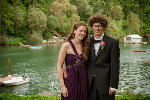 Bainbridge High School Prom group 2012