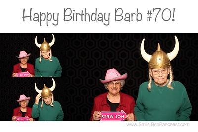 Barbs 70th Birthday Party
