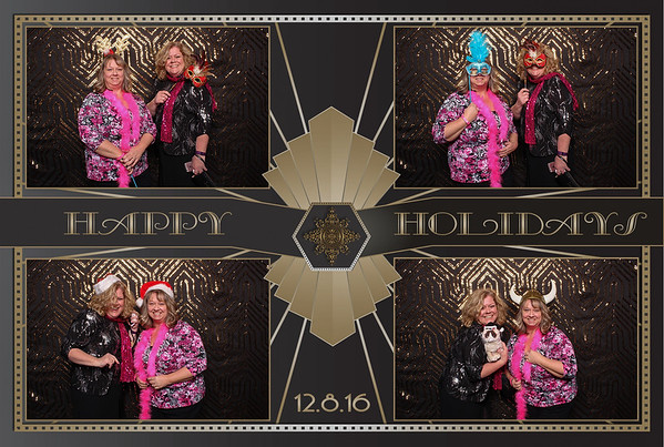 12-08-2016 Beam Suntory Holiday Party Photo booth