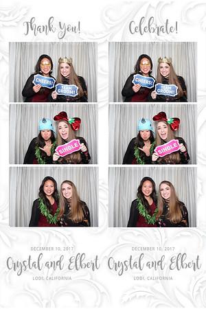 Crystal and Elbert Wedding December 10 2017