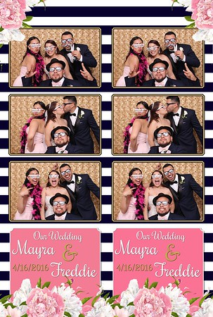 Hernandez Wedding Photo Booth