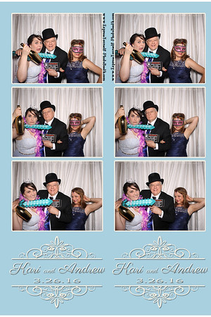 kari and Andrew Wedding March 26, 2016